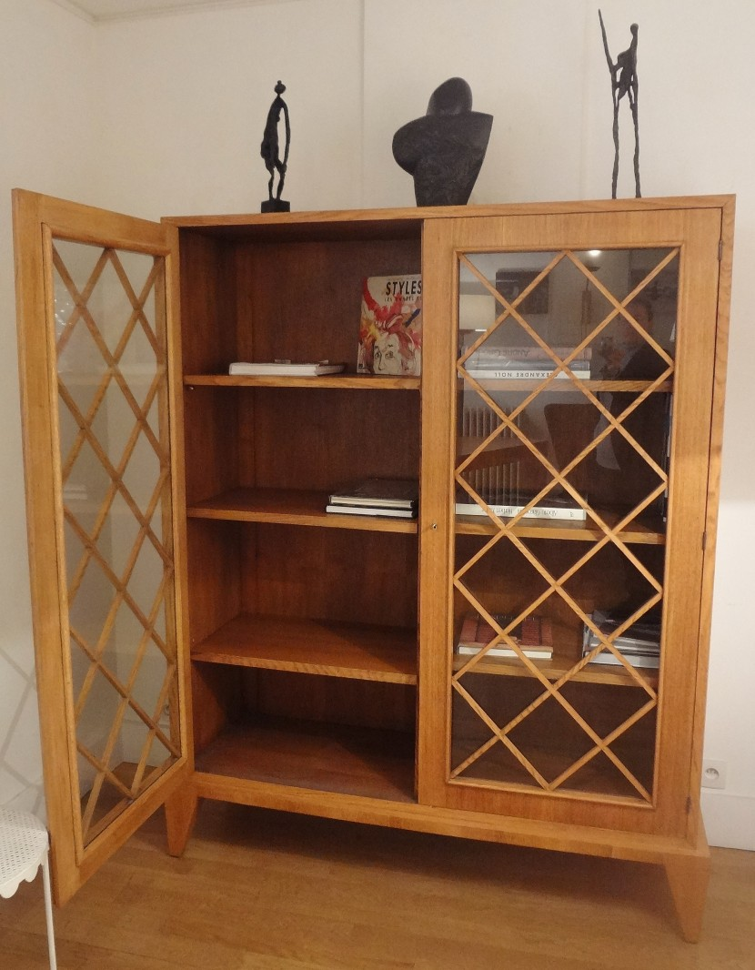 biblioth que en ch ne de jean royere 1948. Black Bedroom Furniture Sets. Home Design Ideas